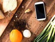 Smartphone in cucina, una grande comodità!